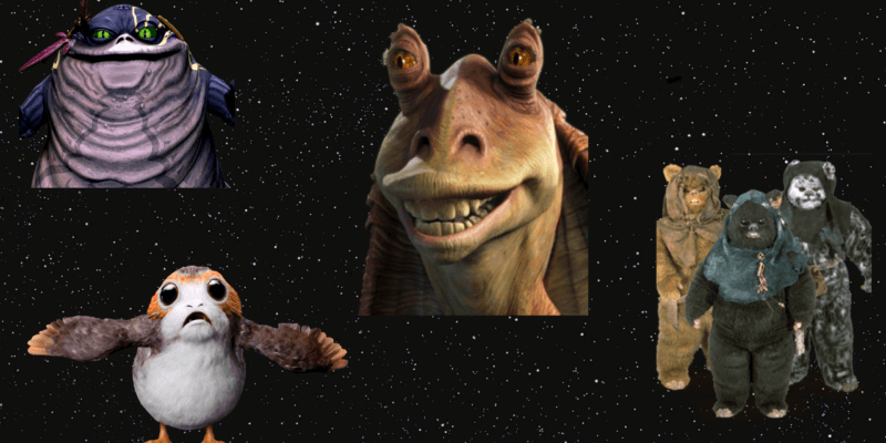 most annoying Star Wars character