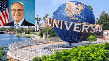 Buddy Dyer Universal Orlando