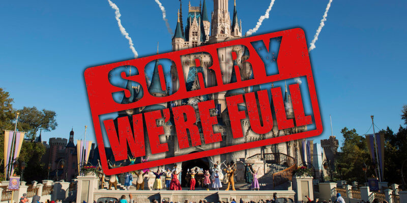 Magic Kingdom Guest Capacity Full