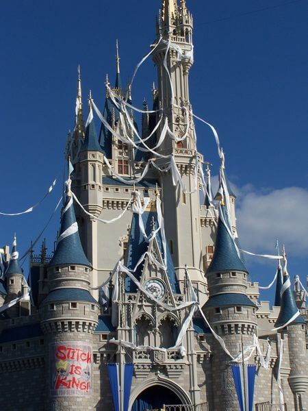 Cinderella Castle Stitch Overlay