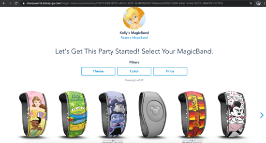 magicband orders available