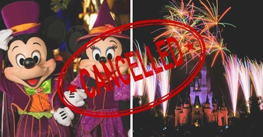 halloween party canceled