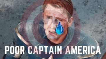 Captain America gets punched