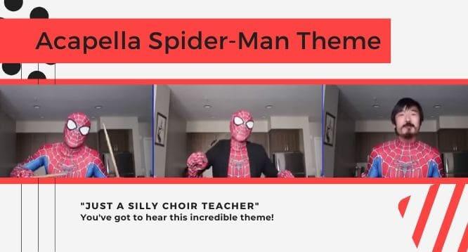 acapella Spiderman theme