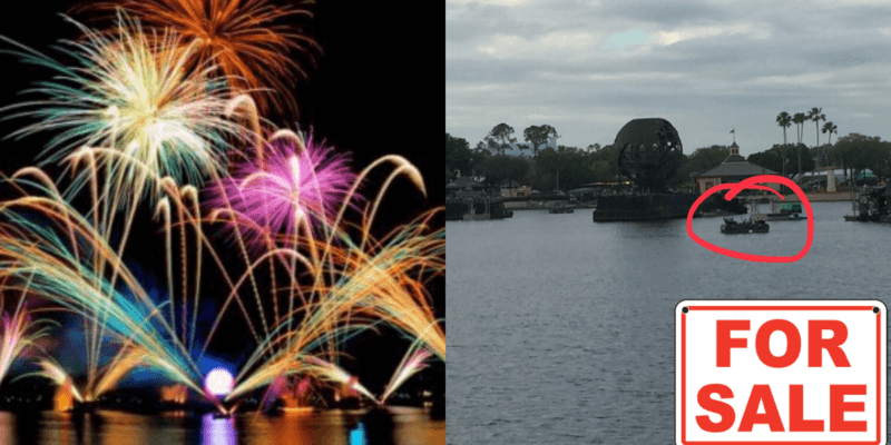 Epcot fireworks