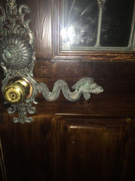 Haunted Mansion Door Handle Detail