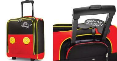 Disney luggage cover photo.