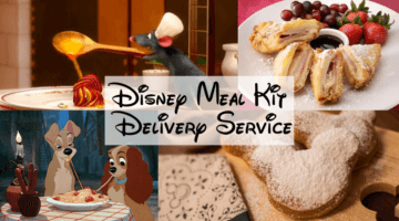 disney meal kit delivery service