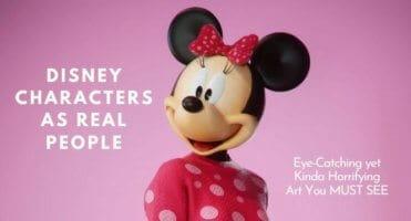 Disney characters as real people header