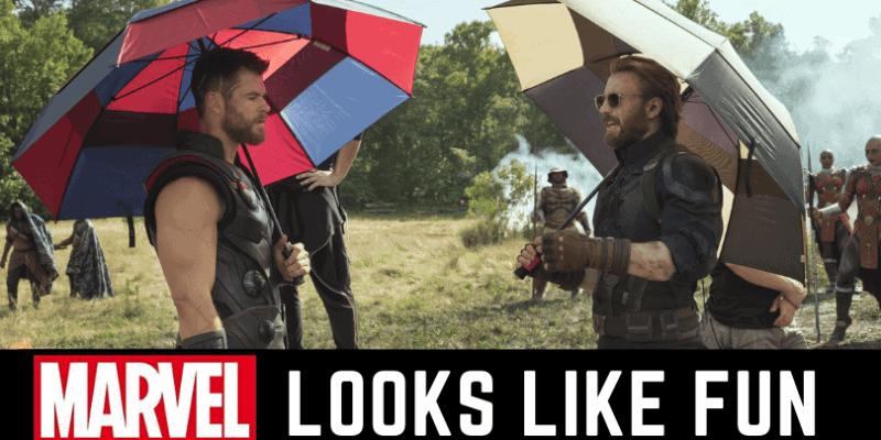 Avengers Infinity War set photos
