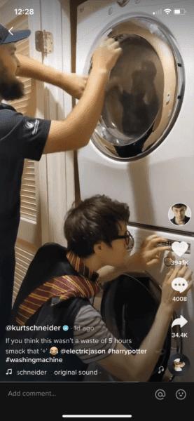 Harry Potter Laundry Music