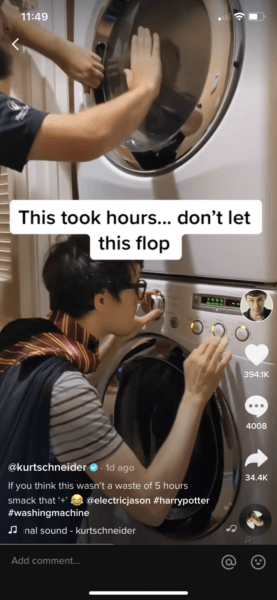 Harry Potter Laundry Time