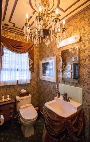 Haunted Mansion Bathroom Details