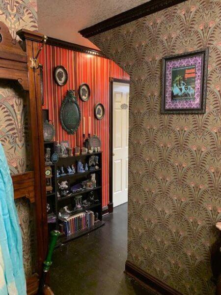 Haunted Mansion Themed Foyer Hallway