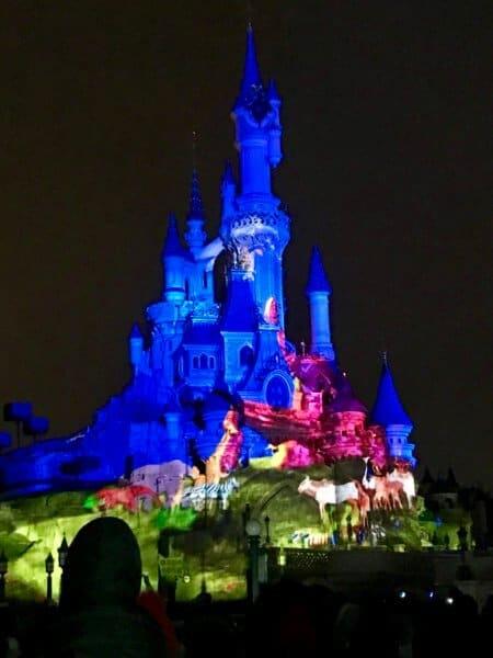 sleeping beauty castle paris