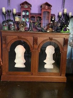 Haunted Mansion Themed Foyer Busts