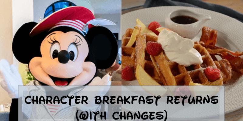 Disney Character Breakfast