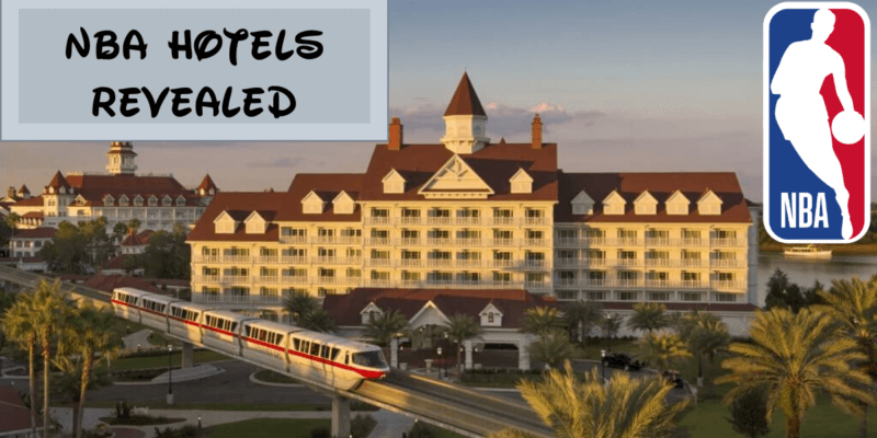 NBA Disney World Hotels