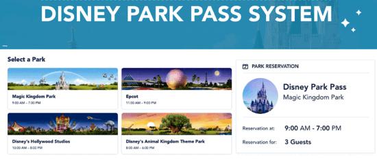disney park pass