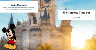 Walt Disney World Park Reservation System