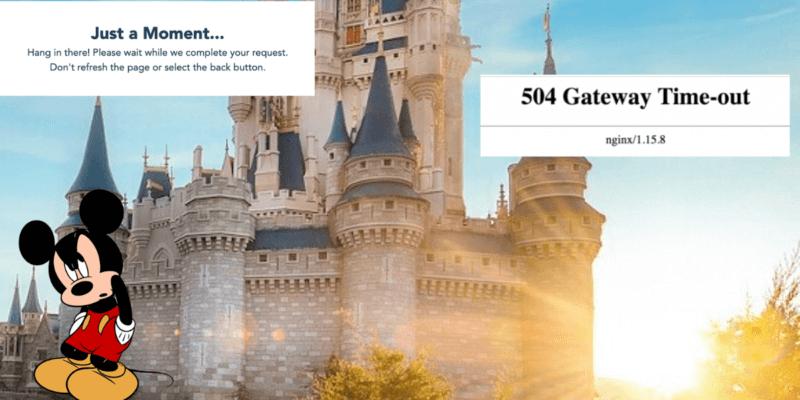 Walt Disney World Park Reservation System