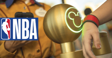 NBA Disney World MagicBands