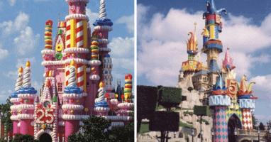 Disney Castle Overlays