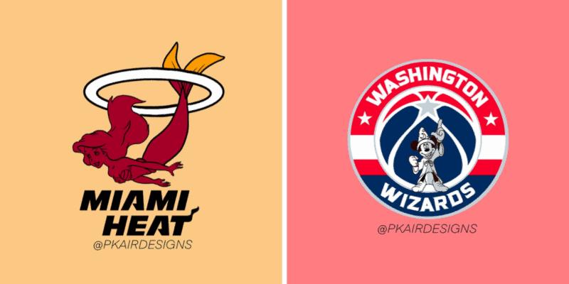 Disney NBA Logos