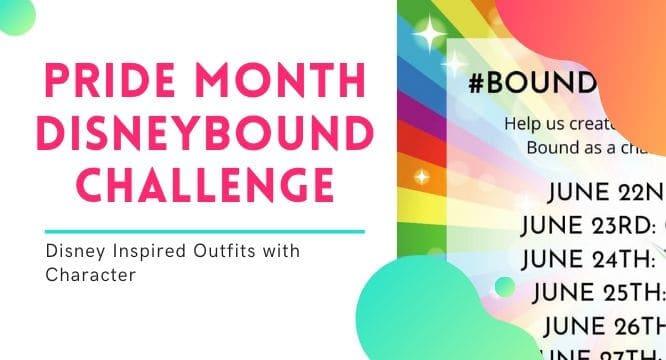 Pride Month Disneybound Challenge