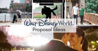 disney world proposal ideas