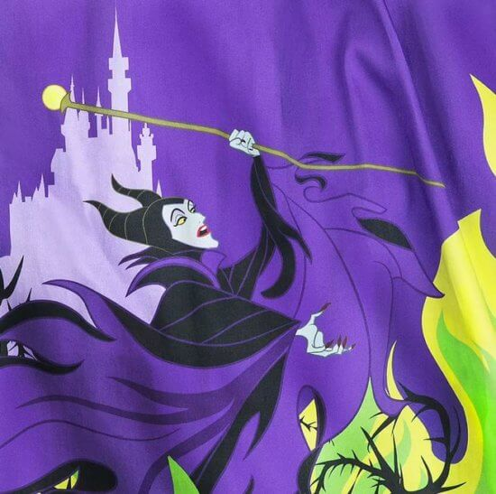 Maleficent Dress from Disney Maleficent and castle