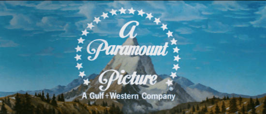 """The Paramount Pictures logo at the start of """"Raiders of the Lost Ark"""""""