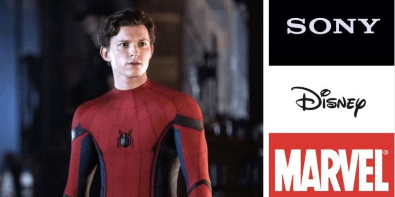 sony disney new deal spider man header