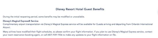 magical express resort update