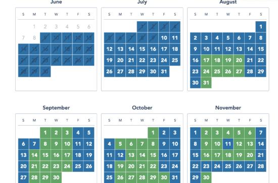 disneyland flex pass calendar