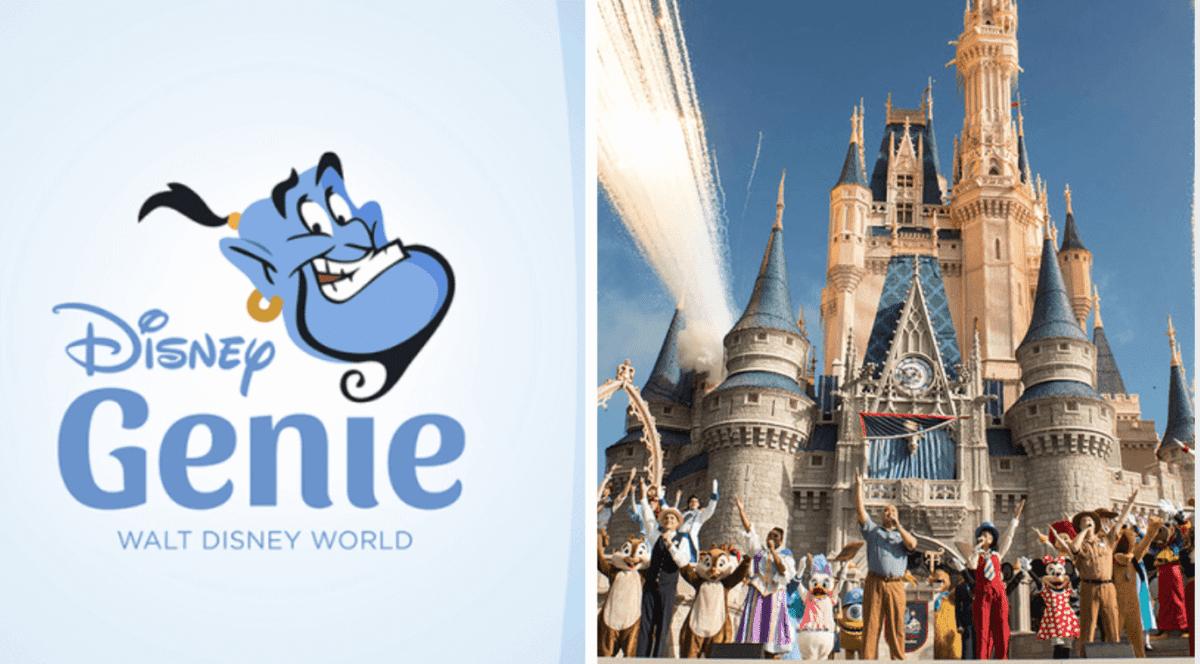 Picture of Disney World Genie