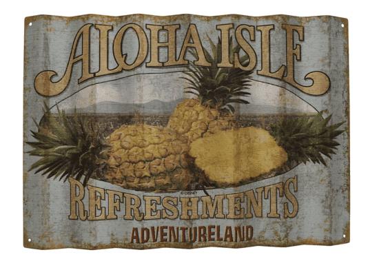 aloha isle wall art