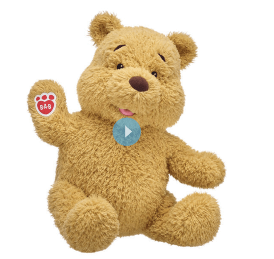 winnie the pooh build a bear undressed