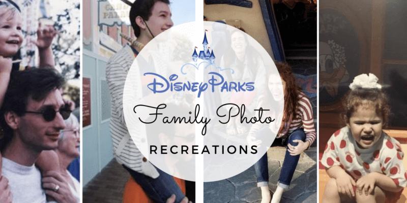 family photo recreations header