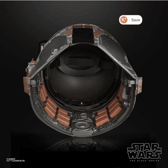 boba fett black series helmet interior