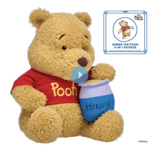 build a bear winnie the pooh