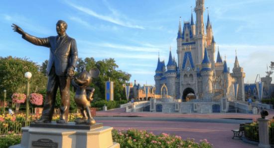 disney world partners statue castle