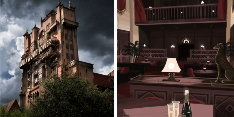 tip top club concept tower of terror