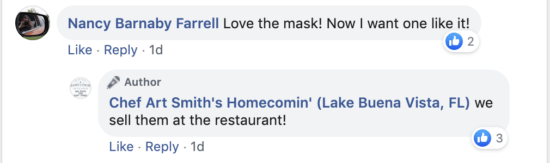 comments on facebook about homecomin