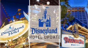 disneyland hotels update
