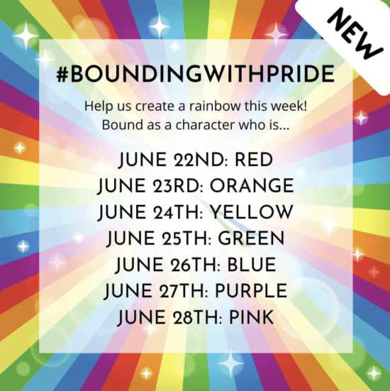 #BoundingWithPride Disneybound Challenge