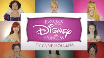 evolution of the disney princess medley header