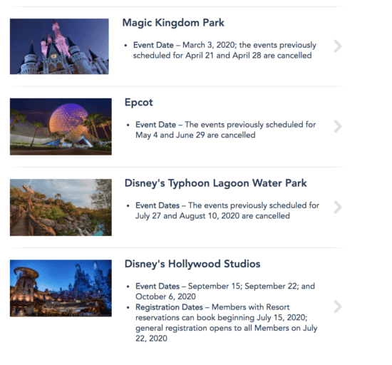 dvc moonlight magic cancelled events