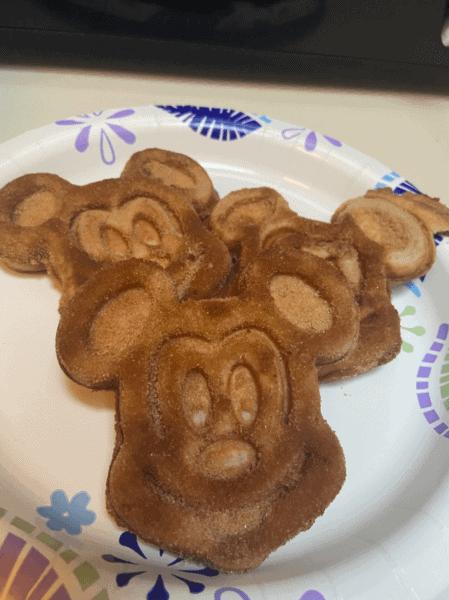 mickey churro waffles