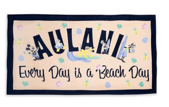aulani beach towel